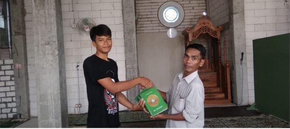Distribusi Wakaf Al Quran