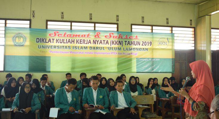 DIKLAT MAHASISWA KULIAH KERJA NYATA (KKN) UNISDA 2019