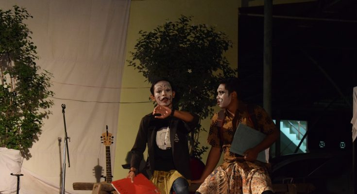 Teater STNK Unisda dalam Festival Budaya FKIP