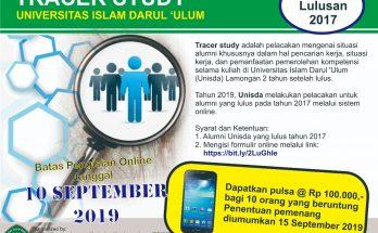 Tracer Study Unisda Lamongan 2019